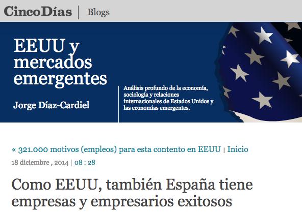 cinco dias empresas españolas de exito