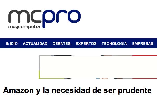 mcpro articulo amazon