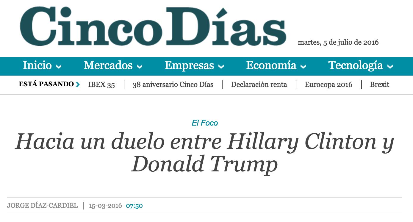 Artículo de Jorge Díaz Cardiel en Cinco Días