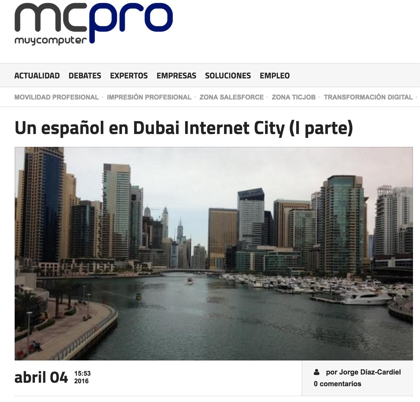 Artículo de Jorge Díaz Cardiel en 'Muy Computer Pro'