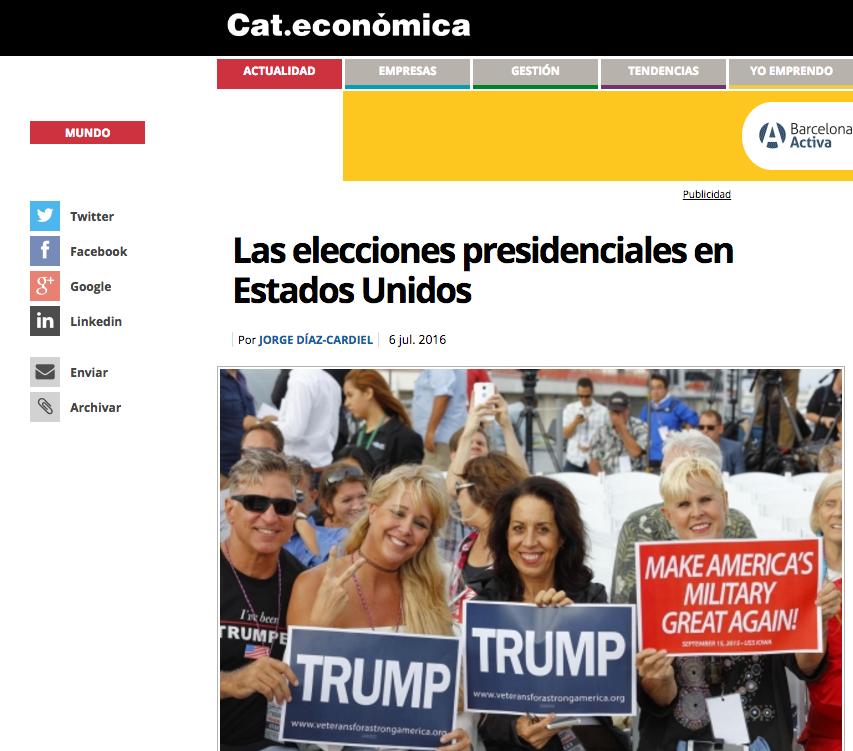 Artículo de Jorge Díaz-Cardiel in 'Cat.Económica'