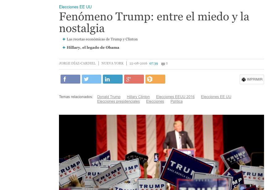 Crónica de Jorge Díaz-Cardiel desde New York en 'Cinco Dias'