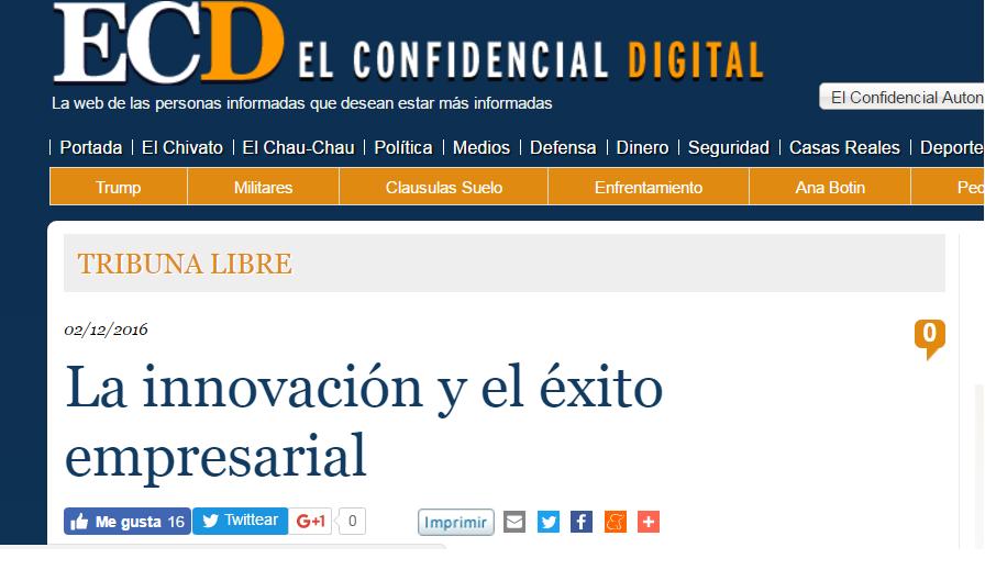 Noticia sobre el nuevo libro de Jorge Díaz-Cardiel en 'El Confidencial Digital'