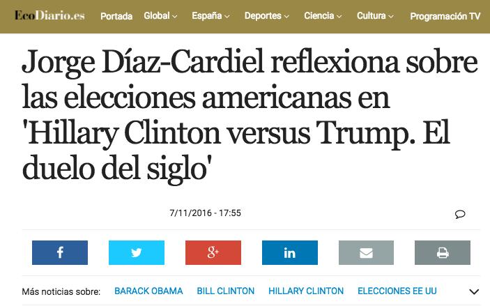 Artículo sobre el nuevo libro de Jorge Díaz-Cardiel en 'EcoDiario.es'