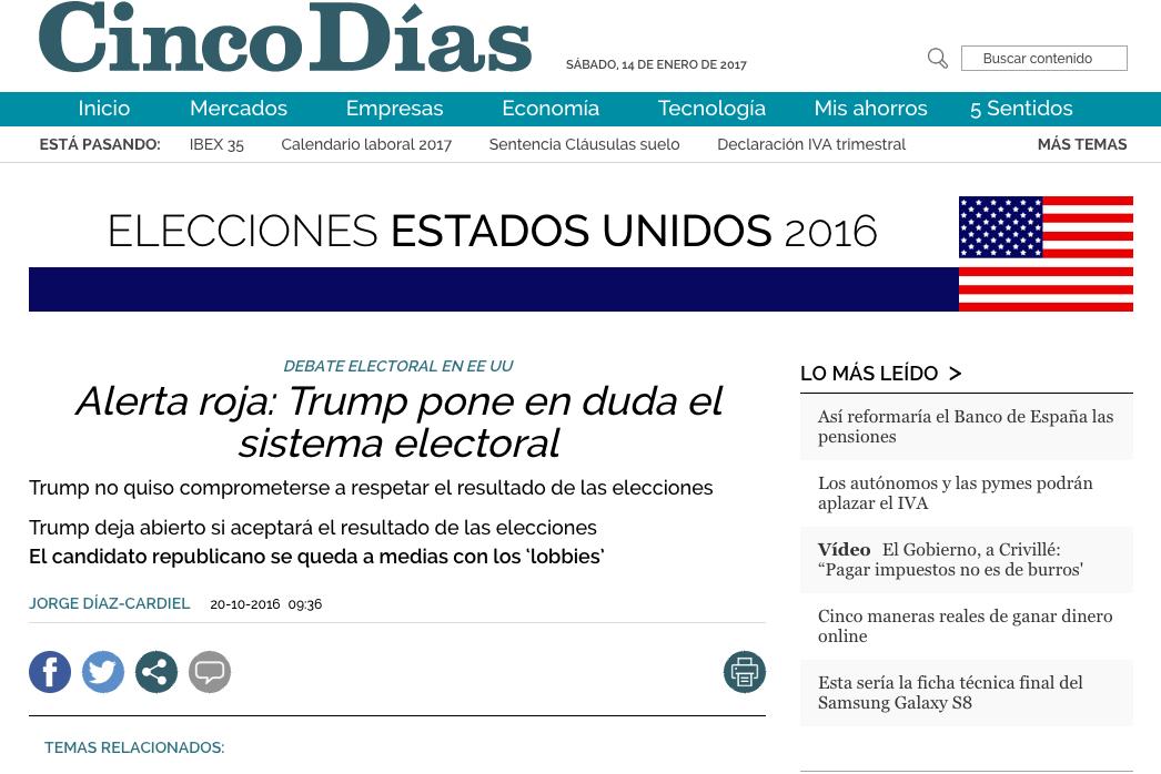 Artículo de Jorge Díaz-Cardiel en 'Cinco Días'