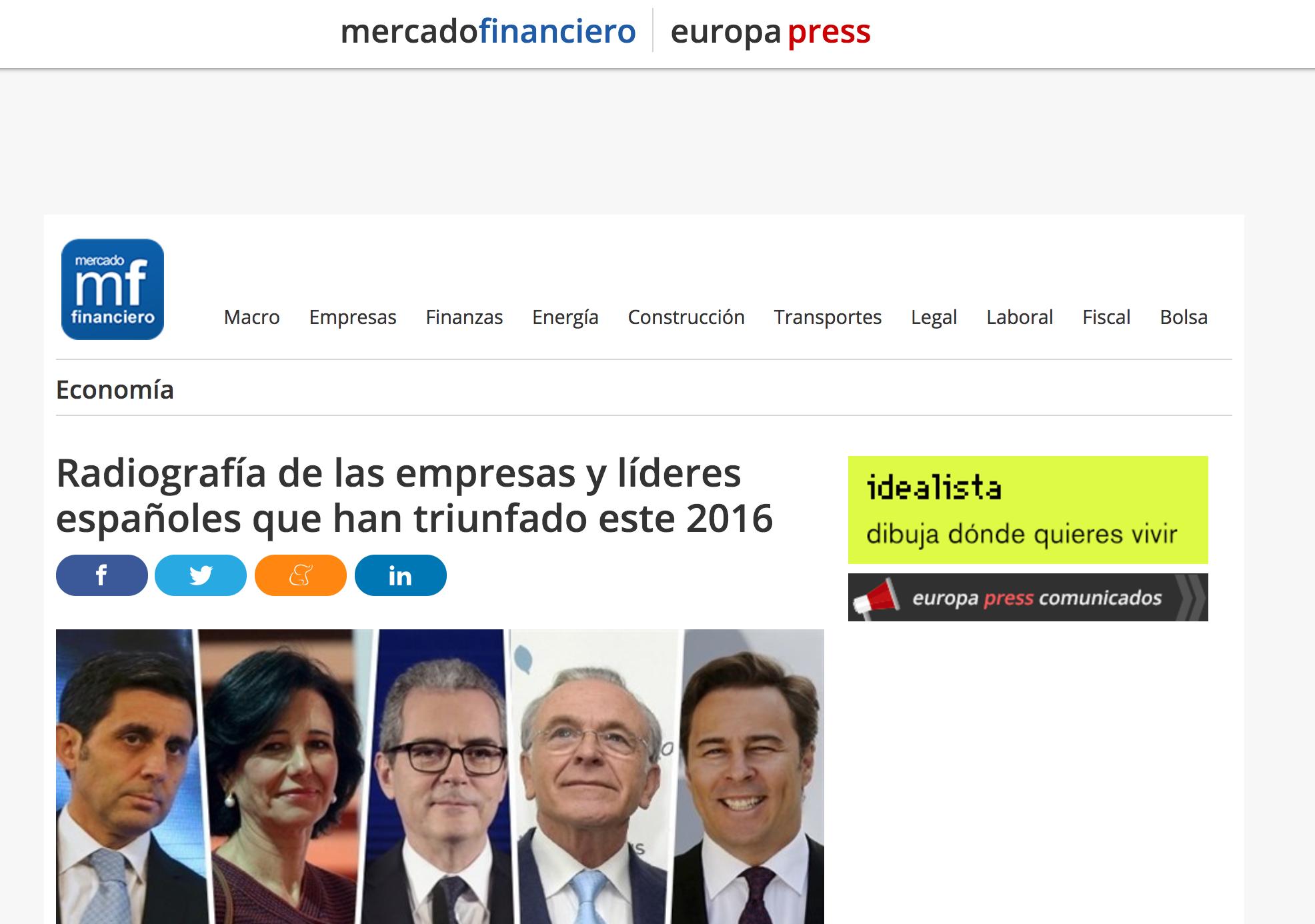 Artículo sobre el Estudio Advice  en 'Europa Press'