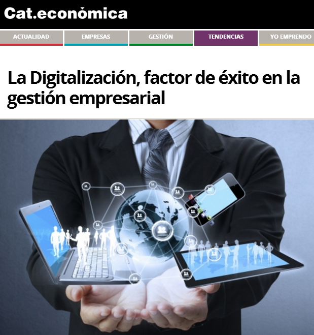 Article by Jorge Díaz-Cardiel in 'Cat.economica'