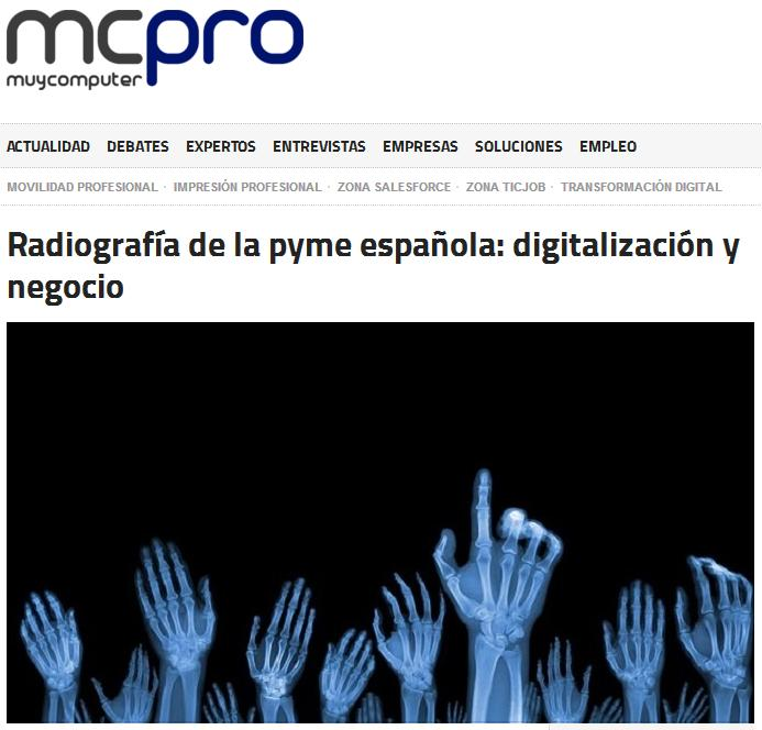 Article by Jorge Díaz-Cardiel in 'MuyComputer Pro'