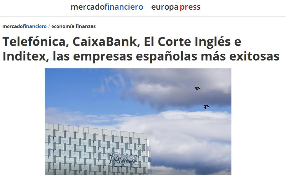 Noticia sobre el estudio Advice en 'Europa Press'