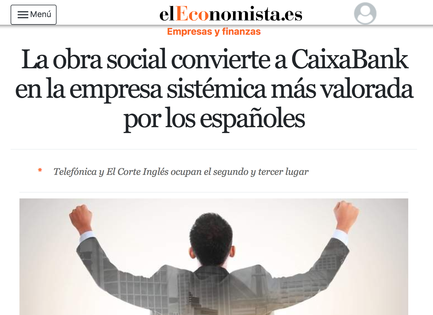 Article by Jorge Díaz-Cardiel in El Economista