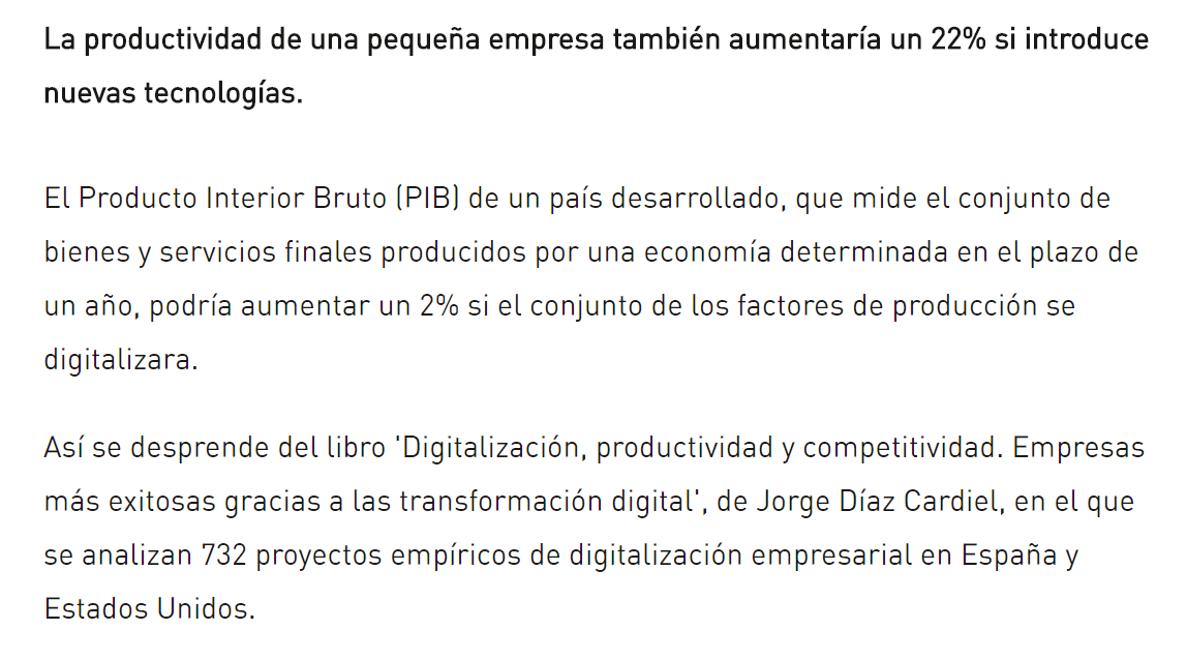 Article by Jorge Díaz-Cardiel in 'Economía Digital - Expansión'