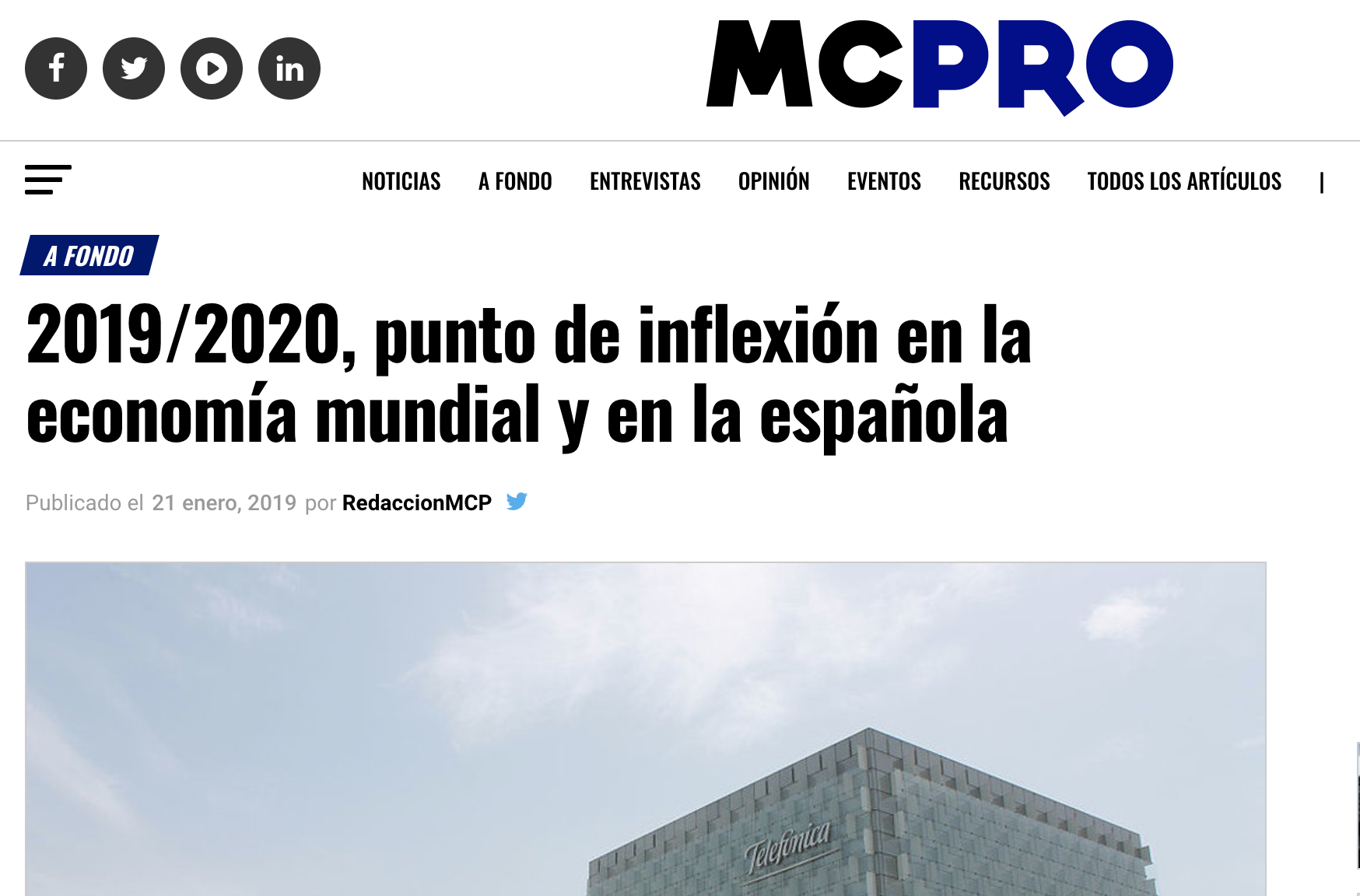Press release about Advice´s study in MCPRO