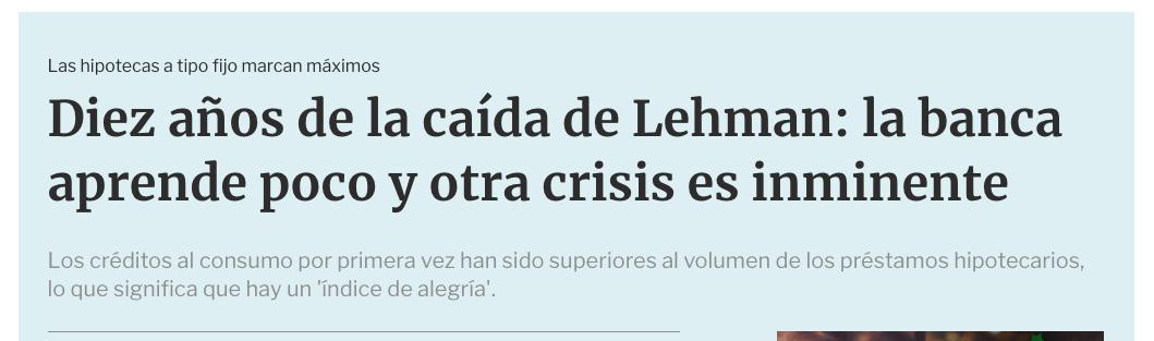 Article by Jorge Díaz-Cardiel in La Informacion