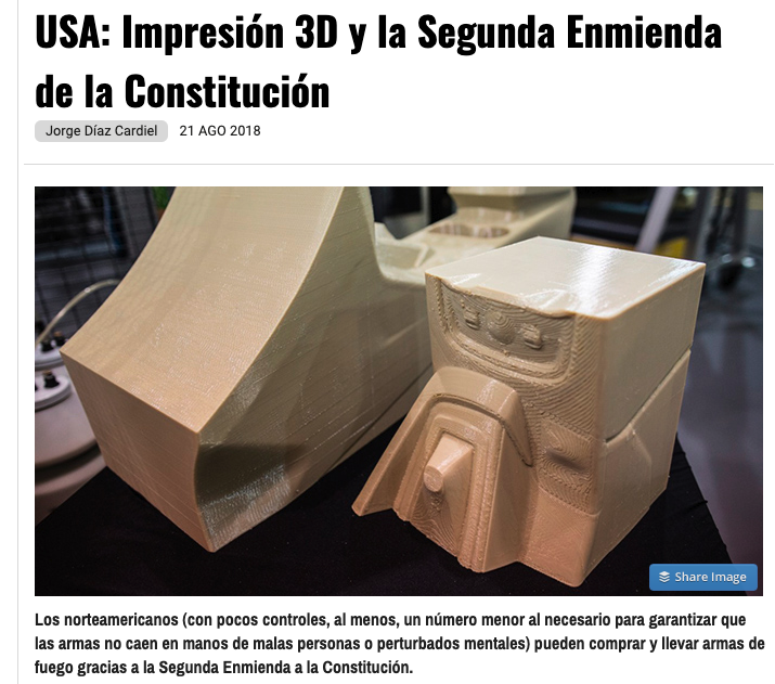 Article by Jorge Díaz-Cardiel in IT User