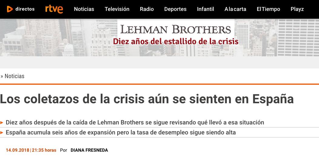 Article by Jorge Díaz-Cardiel in RTVE.es
