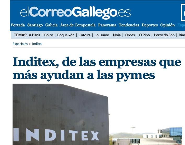 Article by Jorge Díaz-Cardiel in El Correo Gallego