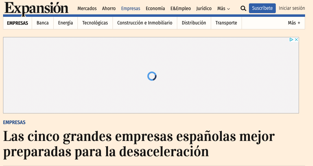Artículo de Jorge Díaz-Cardiel en Expansion
