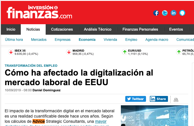 Artículo de Jorge Díaz-Cardiel en Finanzas.com