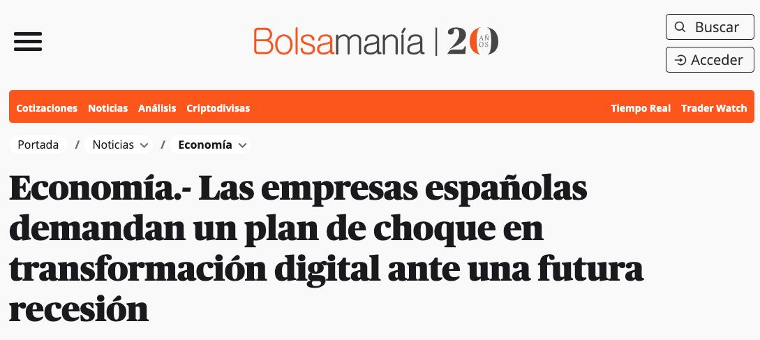 Artículo de Jorge Díaz-Cardiel en Bolsamania.com