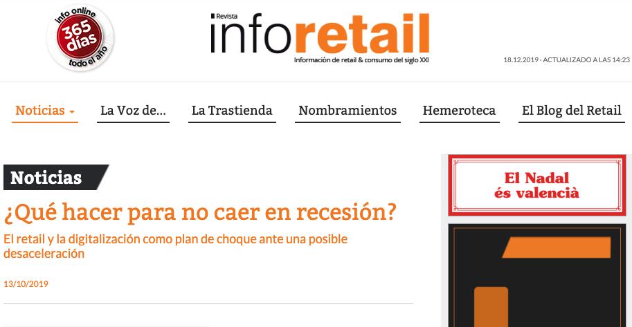 Artículo de Jorge Díaz-Cardiel en Info Retail