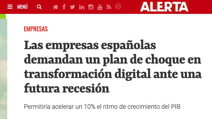 Press Release about Advice´s study in El Diario Alerta