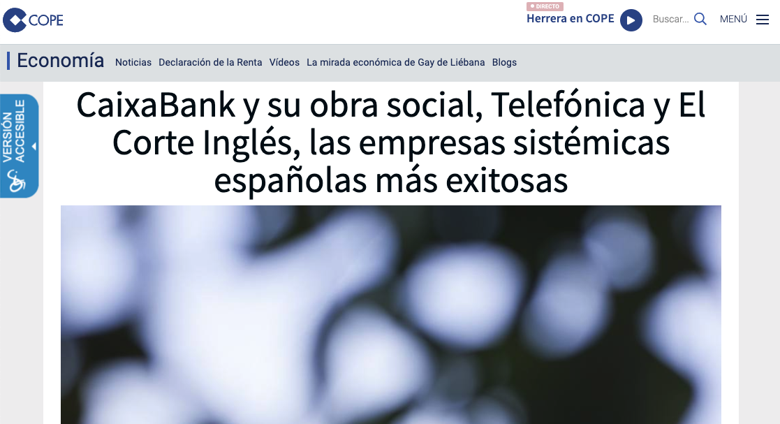 Artículo de Jorge Díaz-Cardiel en COPE