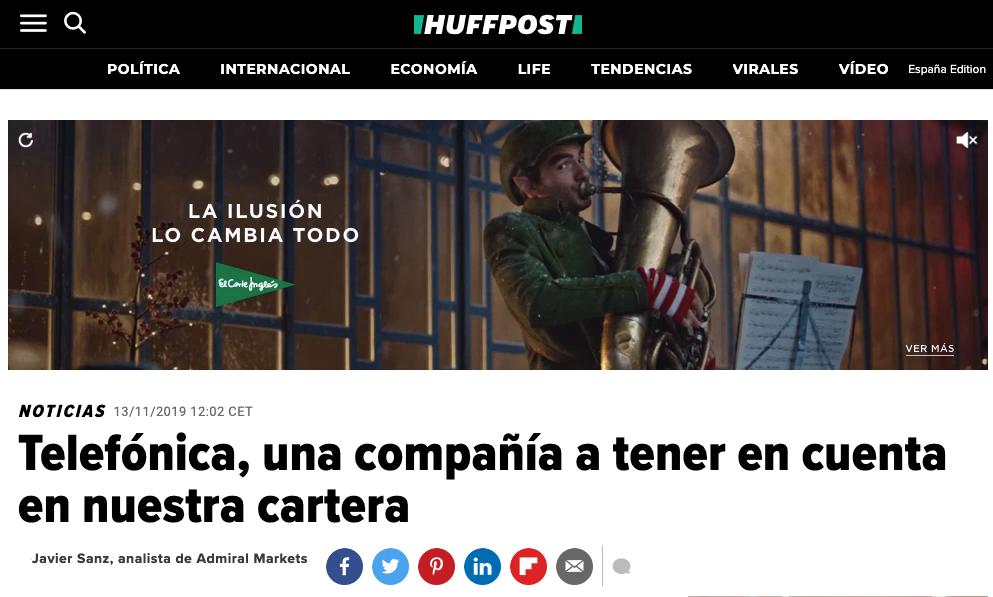 Artículo de Jorge Díaz-Cardiel en Huffington Post